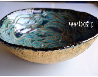 ceramiczna misa – turkusowa