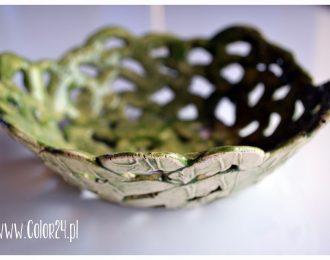ceramiczna misa duża – ażurowa